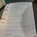 Malaga - Restauracja KGB - dla niezdecydowanych lista najczęściej zamawianych dań