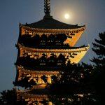 Nara - pagoda świątyni Kōfukuji, druga co do wielkości w Japonii