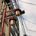 Tokio - Asakusa - i jeszcze raz te lampy i kable...