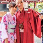 Tokio, Świątynia Senso-ji - selfie stick w akcji