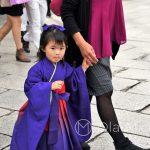Święto Shichi-go-san - ta trzylatka urzekła mnie swoim spokojem i wcale niedziecięcym spojrzeniem