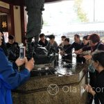 Tokio, Świątynia Senso-ji - jeszcze jedno zdjęcie przy studni