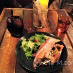 Kuchnia japońska - do kawy na zimno sałatka i kanapka w stylu europejskim