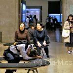Tokio - Muzeum Narodowe - każda okazja do drzemki jest dobra...