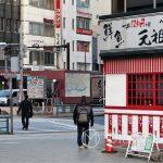 Tokio - dzielnica Asakusa o szóstej rano