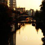 Tokio - Sumida o poranku - okolice Tokyo Tower - mój ulubiony wschód słońca