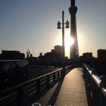 Tokio - jeden z mostów na rzece Sumida i jeszcze raz Tokyo Tower