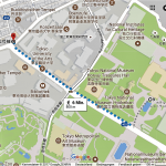 Tokio - dzielnica Ueno - lokalizacja herbaciarni