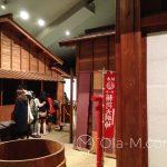 Edo-Tokyo-Museum - naturalnych rozmiarów kopia uliczki z okresu Edo