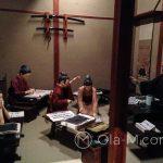 Edo-Tokyo-Museum - scena z pokoju szkolnego