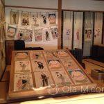 Edo-Tokyo-Museum - przepiękne stare drzeworyty