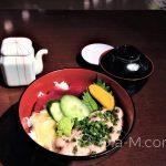 Chirashi sushi po kąpieli w Oedo Monogatari