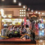 Tokio - Onsen Oedo Monogatari - hala w stylu Edo z restauracjami, kawiarniami i innymi rozrywkami