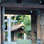 Tokio - Świątynia Meiji - drewniane budynki harmonijnie komponują się z lasem
