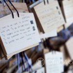Tokio - Świątynia Meiji - tabliczki modlitewne