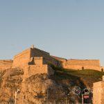 Marsylia - Fort Saint-Nicholas - jego mury widziane z lotu ptaka przypominają gwiazdę