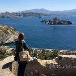 Marsylia - wyspa Ratonneau - widok na wyspę If należącą do tego samego archipelagu Frioul