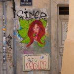 Marsylia - Le Panier - Street Art miesza się tu często z bazgrołami