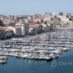 Marsylia - Stary Port - jeszcze jedno ujęcie z innej perspektywy