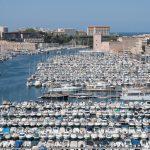 Marsylia - Stary Port - widok z góry