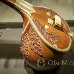 Malaga - Interaktywne Muzeum Muzyki - piękny instrument afrykański zrobiony z tykwy