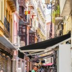 Malaga - Stare Miasto - ruch, gwar, kolory