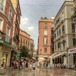 Malaga - Stare Miasto - po deszczu miasto pachnie o wiele lepiej