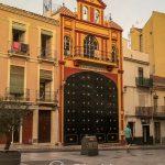 Malaga - Stare Miasto - niezłe wrota...