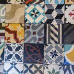 Malaga - Stare Miasto - Azulejos w nieco bardziej nowoczesnej postaci