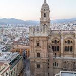 Malaga - Stare Miasto - Katedra tym razem z innej perspektywy (widok z tarasu hotelu AC Hotel Malaga)