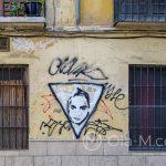 Malaga - Stare Miasto - wsród wielu bohomazów od czasu do czasu wykwita piękne grafitti