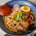 Malaga - restauracja Udon - ramen tampopo - najlepszy ramen jaki jadłam w życiu