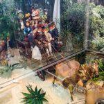 Malaga - ogród botaniczny - Barbie House - scenka rodzajowa z XIX wieku
