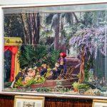 Malaga - ogród botaniczny - Barbie House - w roli aktorów lalki barbie