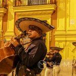 Malaga - uliczni muzykanci - na starym mieście mieszają się style i kontynenty