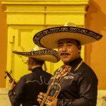 Malaga - uliczni muzykanci