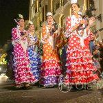 Andaluzja - Feria de Ronda 2018 - parada - uczestnicy parady bawili się conajmniej tak dobrze jak widzowie