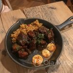 Nasze tapas w Pez Tomillo w Maladze - Kurczak w sosie teryaki