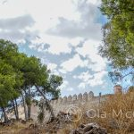 Malaga - mury alcazaby