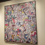 """Malaga - Centre Pompidou - według mojej prawie sześciolatki """"to nie jest ładna sztuka, bo jest za dużo bałaganu i rzeczy spadają na ziemię"""""""