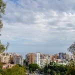 Andaluzja-Malaga - widok ze wzgórza Gibralfaro