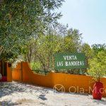 Andaluzja - Ronda - Restauracja Las Banderas pięknie położona wśród zieleni