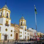 Ronda - Stare Miasto - kościół na rynku