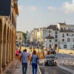 Ronda - Stare Miasto - przejście pomiędzy częścią mauryjską i chrześcijańską
