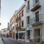 Ronda - Stare Miasto - białe domy, jak na pueblo blanco przystało