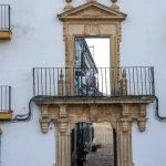 Ronda - Stare Miasto - fasada z widokiem