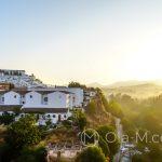 Andaluzja - Ronda - krajobraz o wschodzie słońca