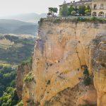 Wąwóz Tajo de Ronda i panorama miasta