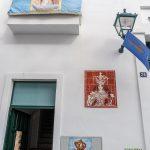 Biała wioska Mijas - jedna Maryja na ścianie to najwidoczniej za mało...