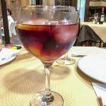 Ronda - Restauracja Restaurante Casa Quino - Sangria na dobry początek